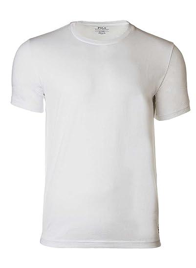 POLO RALPH LAUREN Camiseta de Hombre, Cuello Redondo, algodón ...