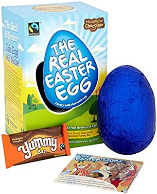 The Meaningful Chocolate Co Real Easter Egg 150g