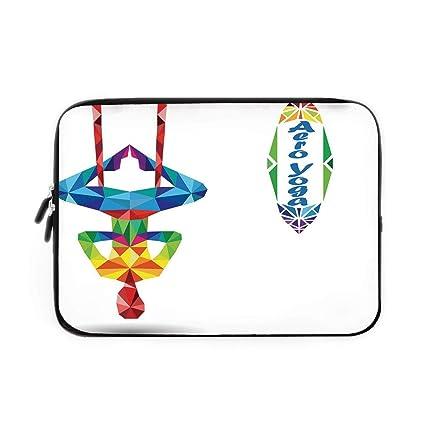 Amazon.com: Yoga Laptop Sleeve Bag,Neoprene Sleeve Case ...