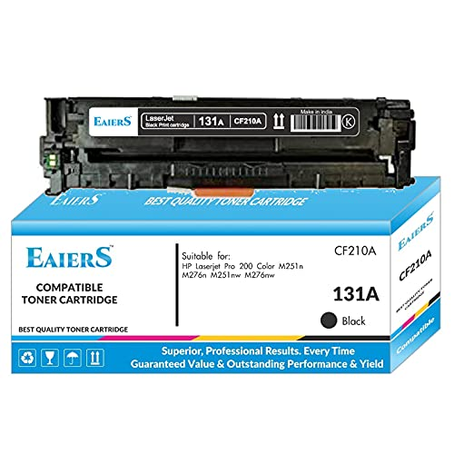 EAIERS 131a Black Toner Cartridge for HP Laserjet pro 200 Color m251n