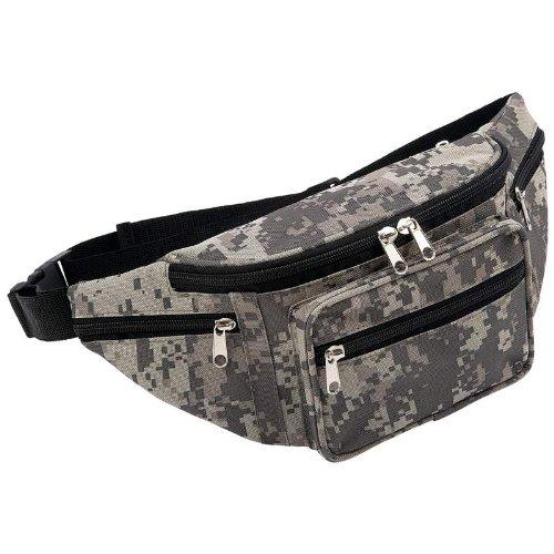 Extreme Pak Digital Camo Water-Repellent Waist Bag, Outdoor Stuffs