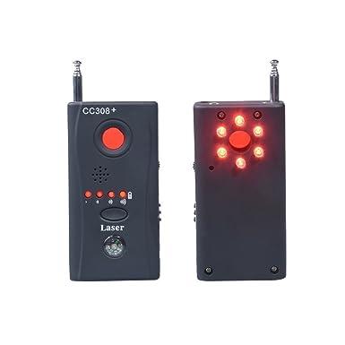 Hangang Detector De Micrófonos Ocultos Microespías CC308 Detector Anti-Espía De Rf Para, Micrófono Oculto Inalámbrico Y Aparatos De Escuchar(CS12034): ...