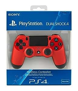 Sony - Mando Dual Shock 4, Color Rojo (PlayStation 4)