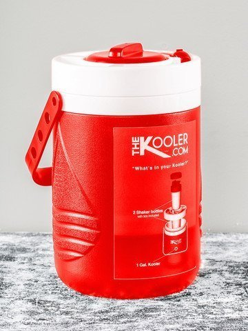 The Kooler 8570003 1 Gallon Kooler44; Red