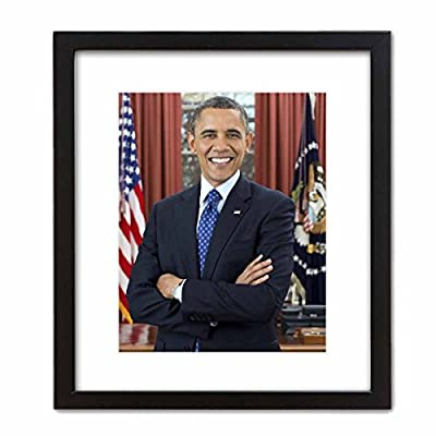 Wall Art Print ~ BARACK OBAMA Official Presidential Photo: In the Oval Office