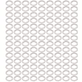 uxcell 200Pcs 14mmx22mmx1.5mm Aluminum Motorcycle Hardware Drain Plug Washer
