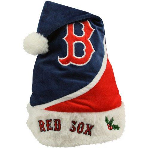 - Boston Red Sox Navy Blue-Cardinal True Colors Santa Hat