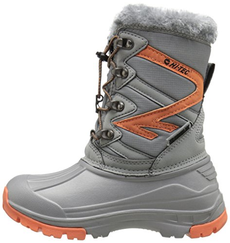 Pictures of Hi-Tec Avalanche JR Winter Boot (Toddler/ Orange/Grey 5