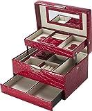Best Barska Jewelry Boxes - Cheri Bliss Jewelry Case, 8.75 x 6.2 x Review