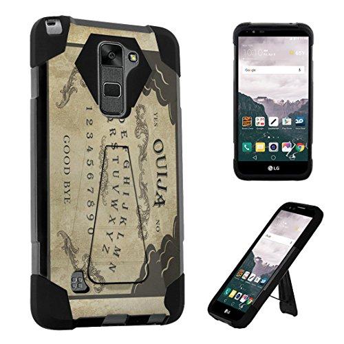 LG Stylo 2 Case / LG Stylus 2 Case, DuroCase ® Transforma Kickstand Bumper Case for LG Stylo 2 LS775 / LG Stylus 2 E520 K520 (Released in 2016) - (Ouija Board) -