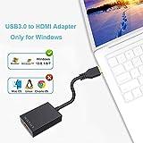 USB to HDMI Adapter, fenoero USB 3.0 to HDMI