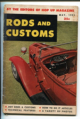 Hot Rod Dragster - RODS AND CUSTOMS-05/1953-QUINN PUB-1ST ISSUE-HOT RODS-DRAGSTERS-PIN UPS-g/vg