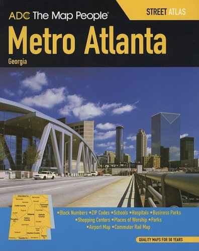 ADC The Map People Metro Atlanta, - Metro Map Center Dc