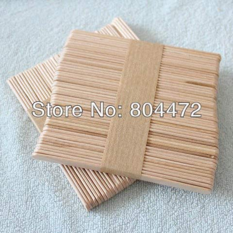 Moonnight Store Ice Cream Stick size 114102 mm 1000 pcs/lot popsicle Stick for DIY ice cream, Wooden sticks for craft purposes