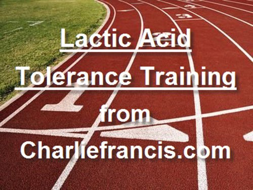 Amazon com: Lactic Acid Tolerance Training eBook: Charlie