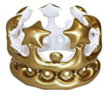 : NPW-USA Queen for The Day Inflatable Crown, Gold