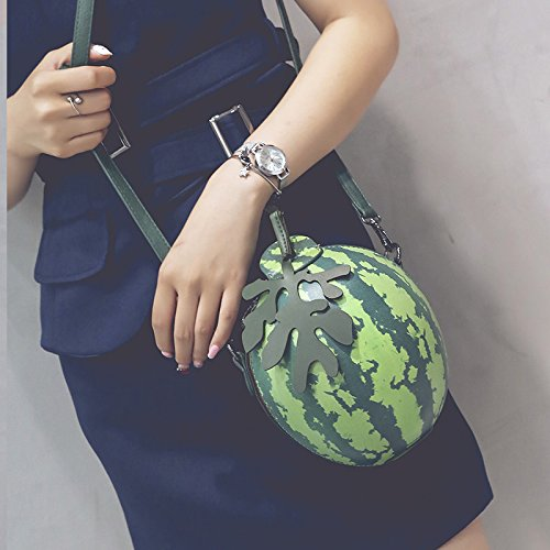 Bag Print Fashion Shoulder Satchel Round Bag Small Single Olici Bag Small Watermelon Bag Tide vfH54qy