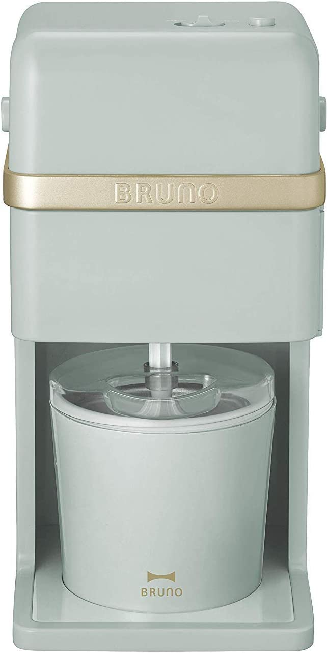 BRUNO Ice Cream & Shaved Ice Maker (Blue Green) BOE061-BGR【Japan Domestic Genuine Products】【Ships from Japan】