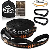 WANT TO SET UP YOUR HAMMOCK IN SECONDS WITHOUT THE NEED FOR ROPES OR KNOTS?  With the Proventure hammock strap set, you'll get the perfect hang in no time at all!  It's so easy even the kids can do it!   FEATURES  High Safety Rating - rated 400LB tot...