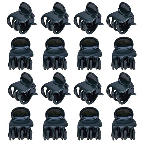 Medium Orchid Clip - Outus 100 Pack Orchid Clips Plant Orchid Support Clips, Dark Green