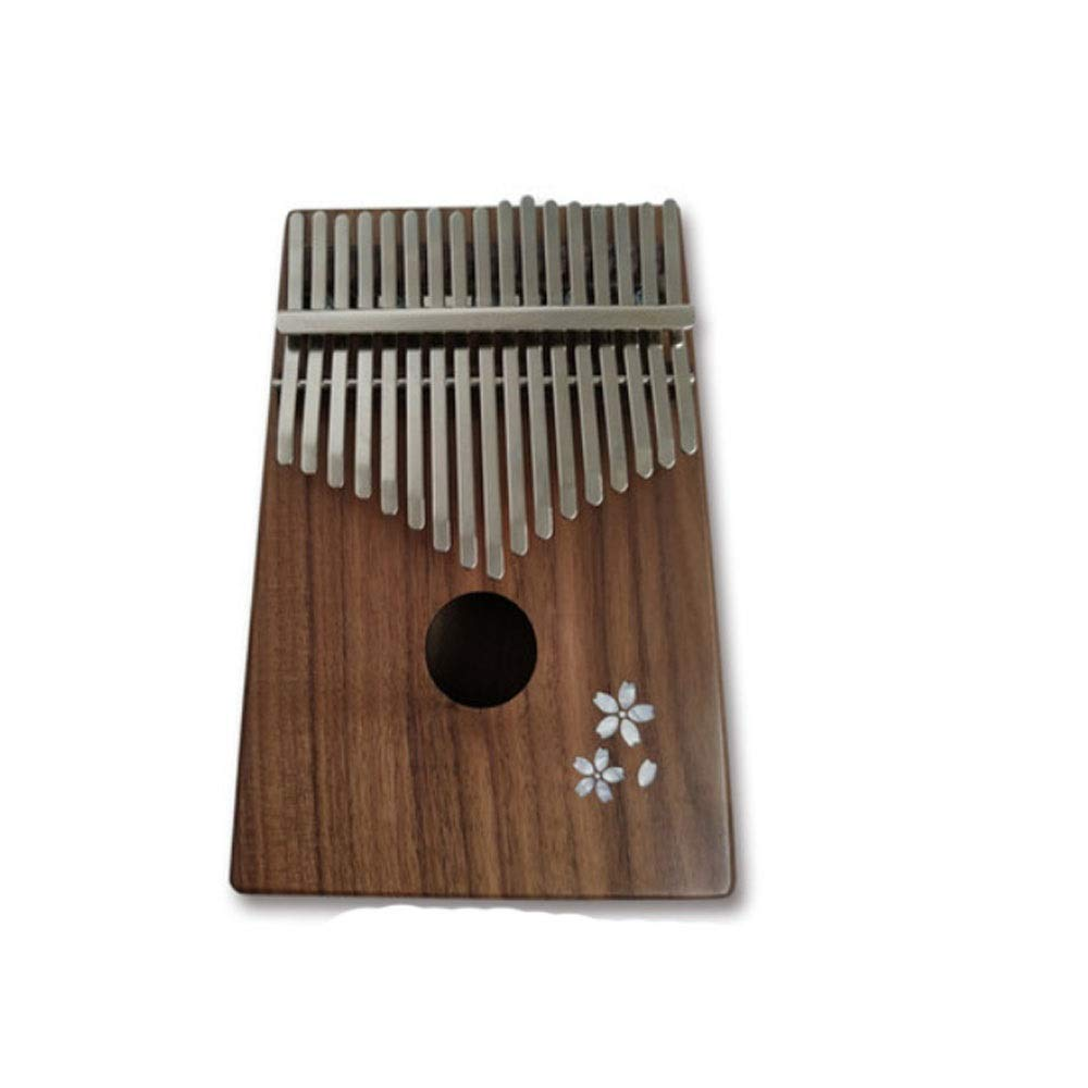 Youshangshipin Kalimba, 17-tone Full-throw Thumb Piano, The Same For Beginners Professional Performance Students (style 1, Gift, Tuning Hammer, Standard Paper, Cotton Bag, Finger Cot, Pickup)