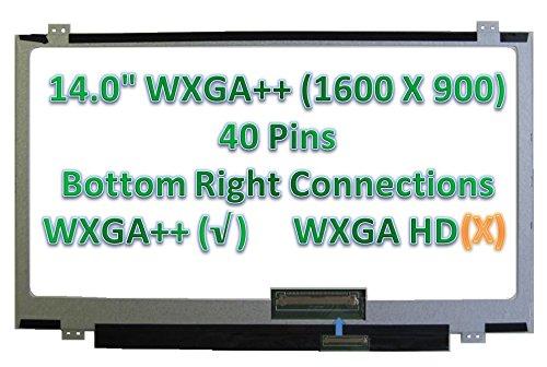 Dell Latitude E6440 LCD Screen E5440 LED JY0DK HD+ 14' LP140WD2 TL HA E5440 6430U 3440 Inspiron 5437