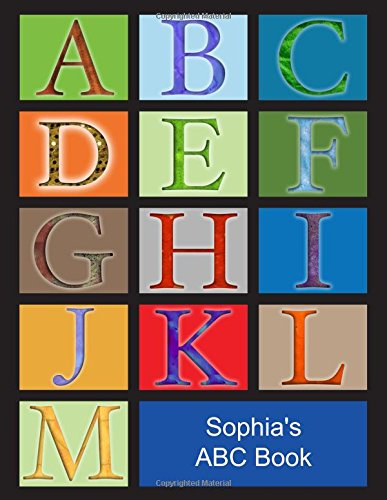 Download Sophia's ABC Book: Caucasian Girl with Blonde Hair PDF