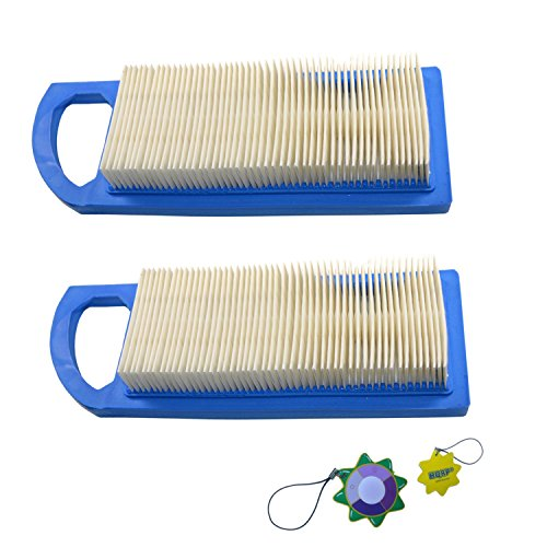 HQRP 2-Pack Air Filter for Bolens 13AM761F065 13AM761F265 13AM762F065 13AM762F265 13AM762F765 Riding Mower Models, Part 795115 Replacement Plus UV Meter