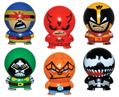 Marvel Heroes Buildables Vending Capsule Toys series 2 set of 6 A/&A Global Industries