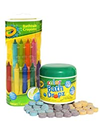 Crayola Bathtub Crayons with Crayola Color Bath Drops 60 tablets BOBEBE Online Baby Store From New York to Miami and Los Angeles