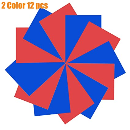 Cricut Heat Transfer Vinyl Electric Colors-6 Piece Starter Bundle Easy Weed