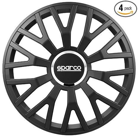 Amazon.com: Sparco SPC1510BK Leggera Wheel Covers, Black ...