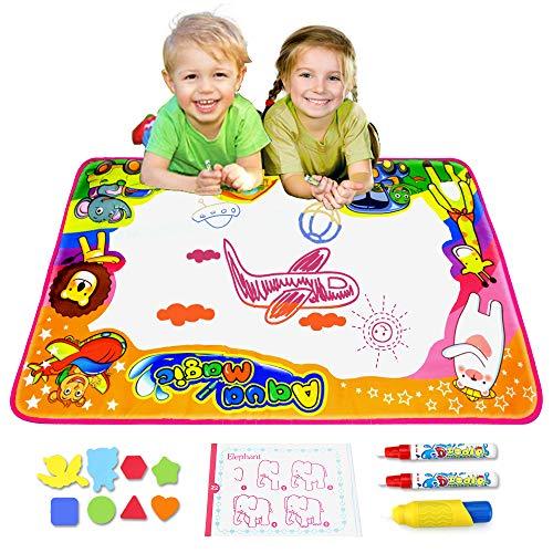 Ubetoone Aqua Magic Mat Kids Toys Water Doodle Drawing Pad L