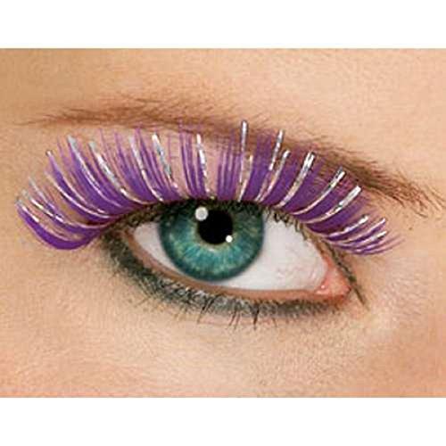 Rubie's Costume Co. Hologram Eyelashes Costume, Purple, One Size, Multicolor]()