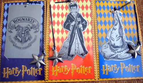 Harry Potter Collectible Metal Bookmark Set – HPB