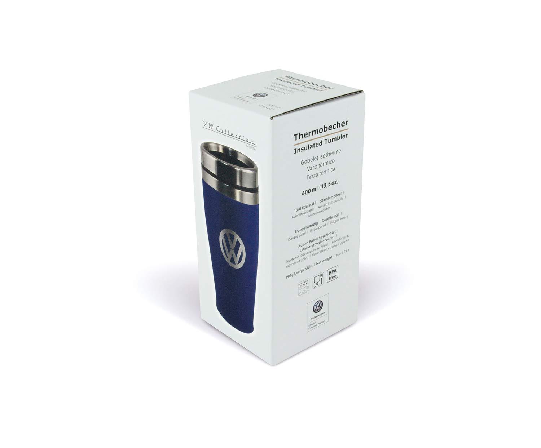 Brisa VW Collection VW Tazza Termica Blu 400ml Acciaio Inossidabile