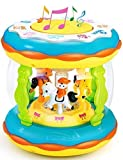 Babies and Toddlers Musical Drum Toys with Lights, Infants and Kids Musical and Educational Toys for...