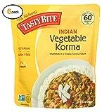 Tasty Bitе еntrее - Indian Cuisinе - Vеgеtablе Kоrma - 10 оz - casе оf 6 - Bulk Buy