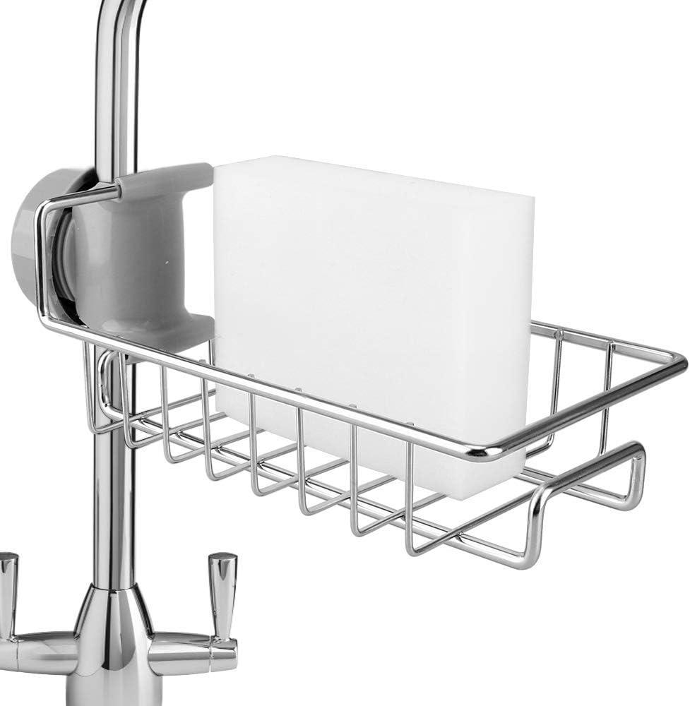 Kitchen Accessories Sponge Drain Rack Holder No Punching Shelf Organizer Holdero