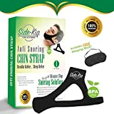 SideKiq Premium 2 in 1 Anti Snoring Chin Strap w/ FREE Sleeping Mask: The #1 Instant Snoring Relief - Adjustable Chin Strap - Advanced Anti Snore Device for Your Sleeping Solutions