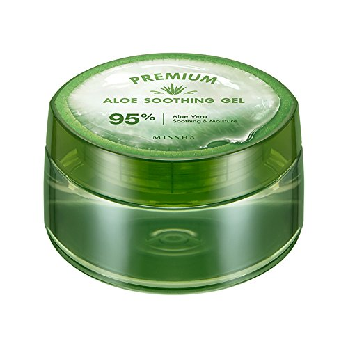 Missha Premium Aloe Soothing Gel 95% aloe vera From Jeju (300ml) *Contains Hyaluronic Able C&C