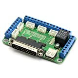 SainSmart 5 Axis Breakout Board for Stepper Motor Driver CNC Mill