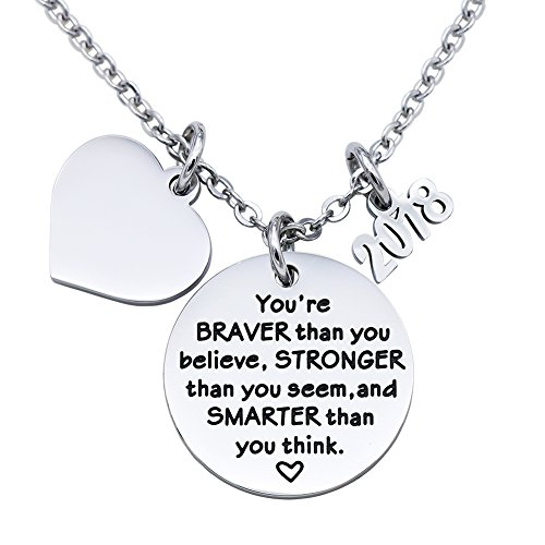 Toy Soldiers From Toy Story Costume (Melix Home Best Christmas Gift for 2018, Stainless Steel You are Braver Than You Believe Necklace (Necklace))