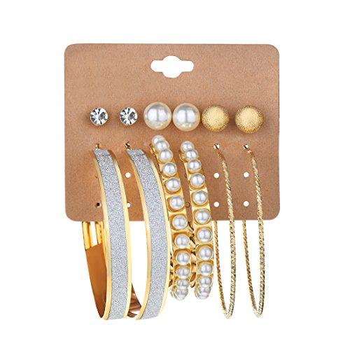 crystal earring set - 8