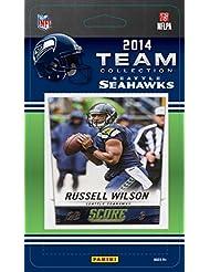 Seattle Seahawks 2014 Score NFL Football Factory Sealed 13 Card Team Set with Russell Wilson, Marshawn Lynch, Richard Sherman Plus