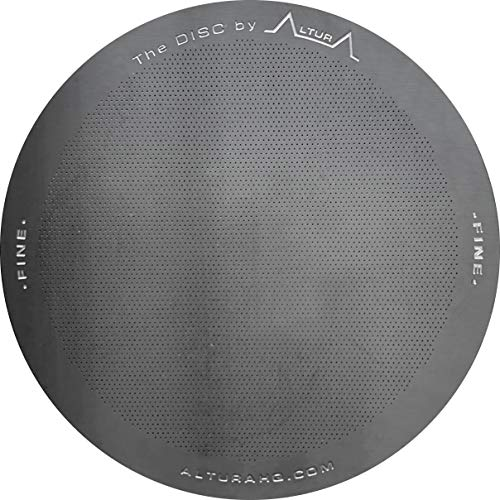 The DISC: FINE Premium Filter for AeroPress Coffee Makers by ALTURA