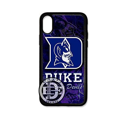 ENTRIC DESIGN & CO. Duke Blue Devils Sports TPU Rubber Silicone Case ()