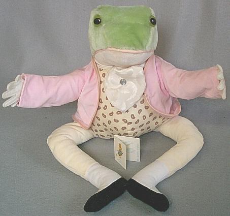 Beatrix Potter Jeremy Fisher Stuffed Animal