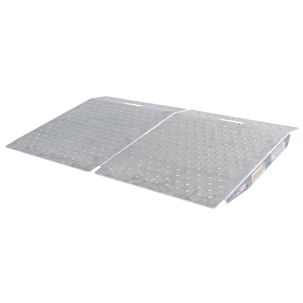 Guardian SR-01-24-24-P-TS6-2 Shed Ramps with Punch Plate Surface-2Pack, 2 Pack