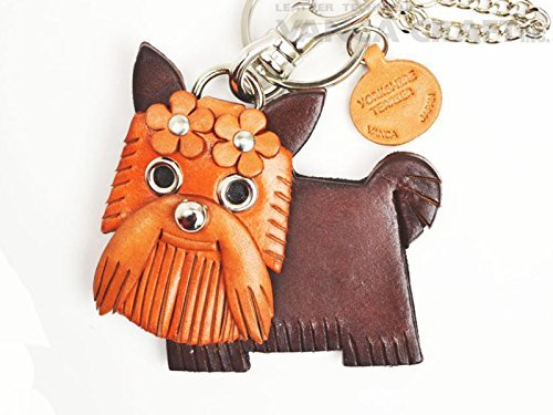 Genuine leather bag charm Yawkey [product made in Japan, handmade new] (japan import)